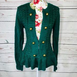 A.n.a XL green cardigan sweater💕